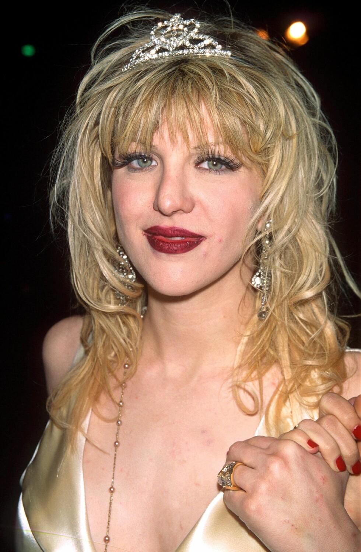 Courtney Love i 1995.  Foto: REX/All Over Press