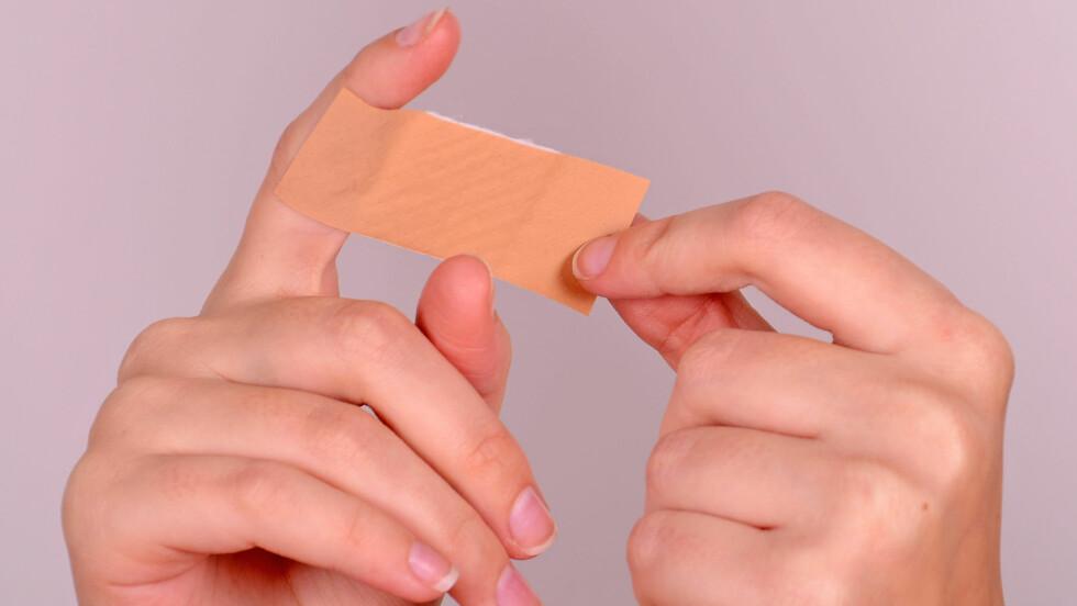 GRO FORTERE? Noen sår gror fortere enn andre, da sårheling er avhengig av mange faktorer.  Foto: Fotolia
