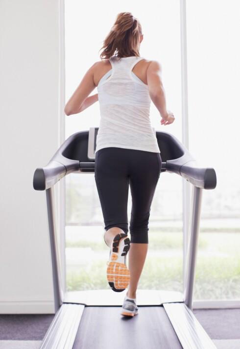 <strong>TRENING VANSKELIG:</strong> For noen er kjønnsleppene så store at det fører til hevelser når de for eksempel løper eller sykler. Foto: All Over Press