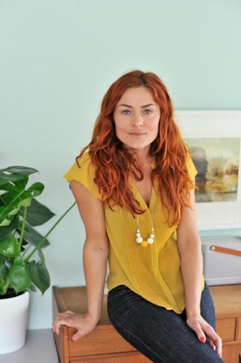 <strong>INTERIØREKSPERTEN:</strong> Signe Schineller er interiørstylist og har sin egen blogg Resignert.no. På nyåret er hun å se på et nytt interørkonsept på tv. Foto: Anniken Zahl Furunes