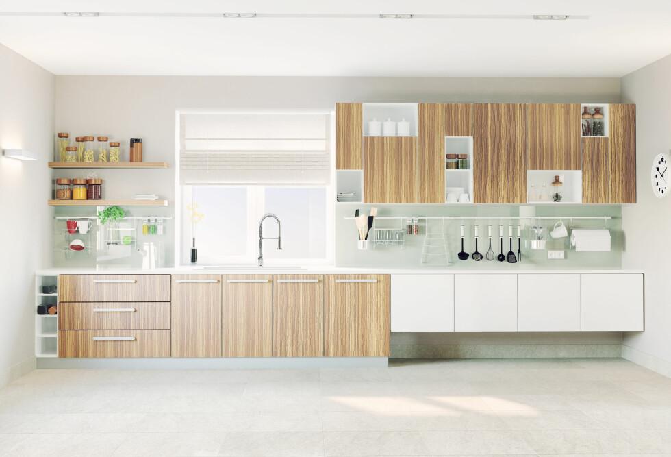 UTSTILLINGSMODELLEN: Hvis du har tålmodighet og litt tid kan du kanskje finne drømmekjøkkenet til halv pris. Foto: Fotolia