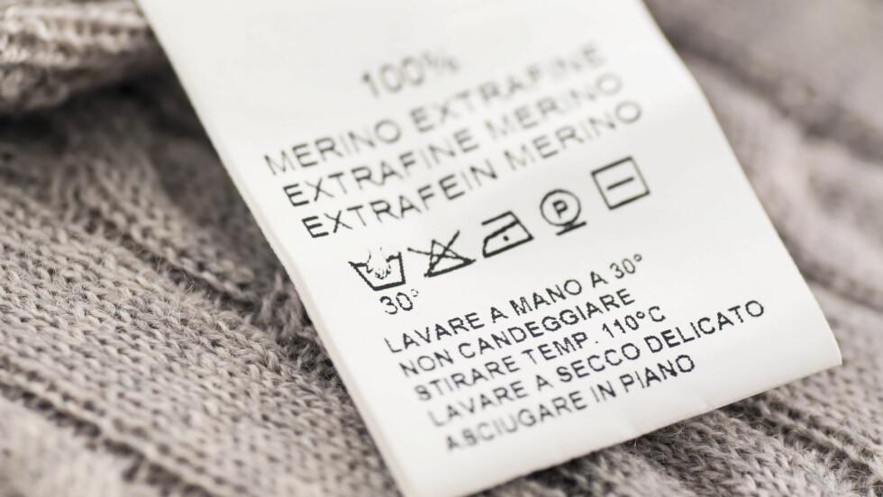 HÅNDVASKET ULL: Dagens vaskemaskiner er så skånsomme, at de behandler ullplaggene dine mer varsom enn du gjør med håndvask. Foto: All Over Press