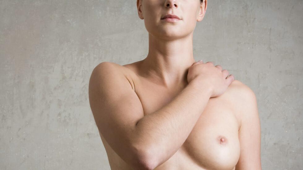 BRYSTKREFT: Risikoen for å få brystkreft øker med alderen, men brystkreft kan også oppstå hos kvinner i 30-årene, selv om det er noe sjeldnere.  Foto: Beyond Fotomedia GmbH / Alamy/All Over Press