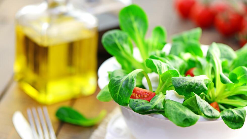 SALAT: Du kan helt fint velge å lage det til middag, men for at den skal være næringsrik nok, gjelder det å tilsette de rette ingrediensene. Foto: Printemps - Fotolia