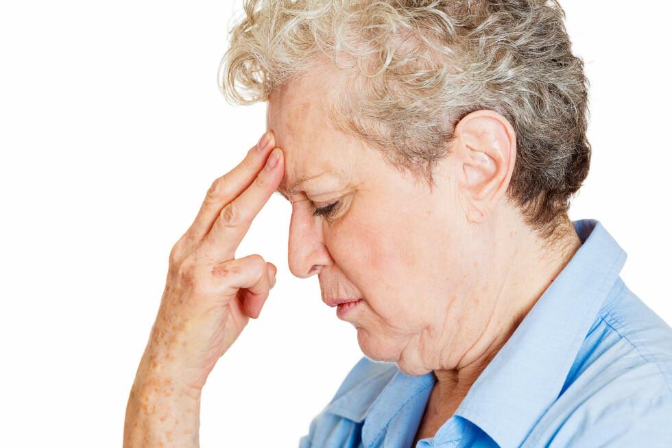 ALZHEIMERS: Noen tror at vaksinen kan føre til Alzheimers, men dette er absolutt ikke tilfelle.  Foto: pathdoc - Fotolia