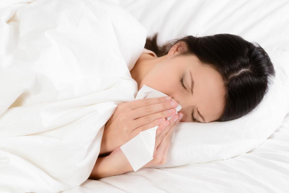 INFLUENSA: Det er høysesong for influensa, og i den forbindelse har vi laget en liste over de ti vanligste influensamytene.  Foto: Lars Zahner - Fotolia