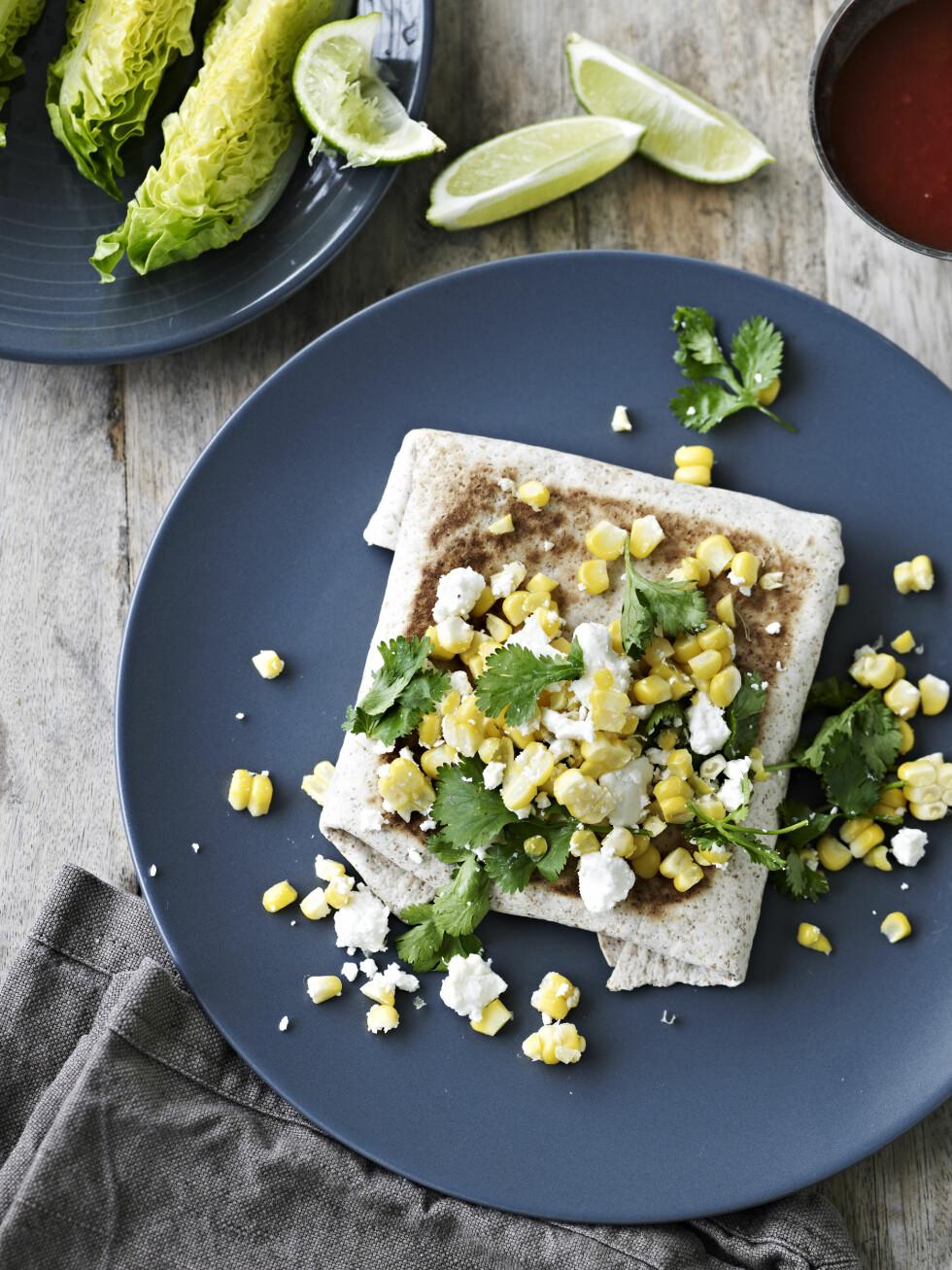 MASSE DEILIGE GRØNNSAKER: Og så gode krydder. Krydderet spisskummen er perfekt til mexikansk. Foto: All Over Press
