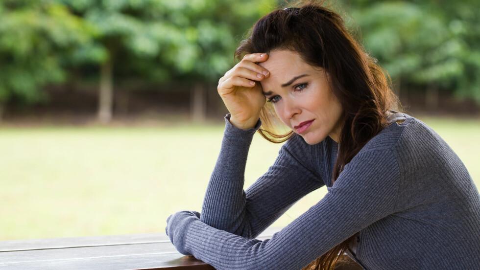 DEPRESJON: Mange sliter med depresjon. Heldigvis finnes det råd som kan hjelpe deg ut av den onde sirkelen.  Foto: Johan Larson - Fotolia