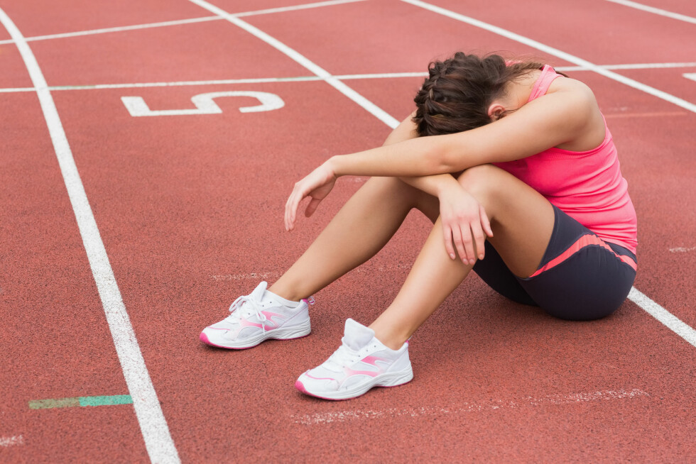 UTMATTET: Uteblir treningsresultatene dine? Svaret kan være enkelt.  Foto: Fotolia