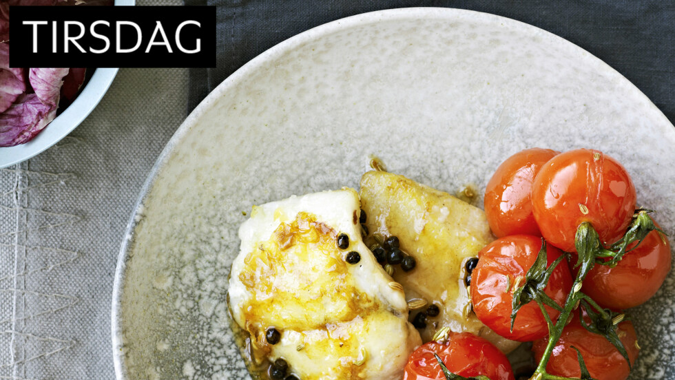 LETTVINT LUKSUS: Hvis du vil, kan du lage ekstra tomater. De er supergode i en salat en dag du har det travelt. De holder seg et par dager i kjøleskapet. Foto: All Over Press