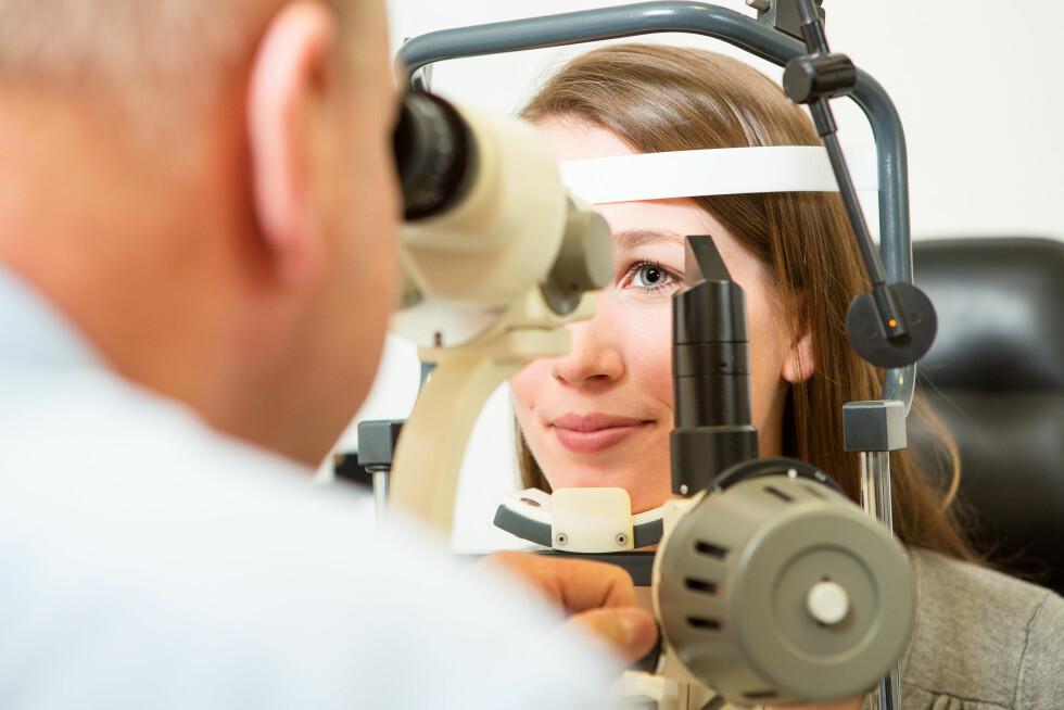 SYNET: Svimmelhet kan komme av flere ulike årsaker. Det kan for eksempel være noe galt med synet. Foto: Robert Kneschke - Fotolia