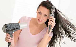 Blir håret ditt brusete?