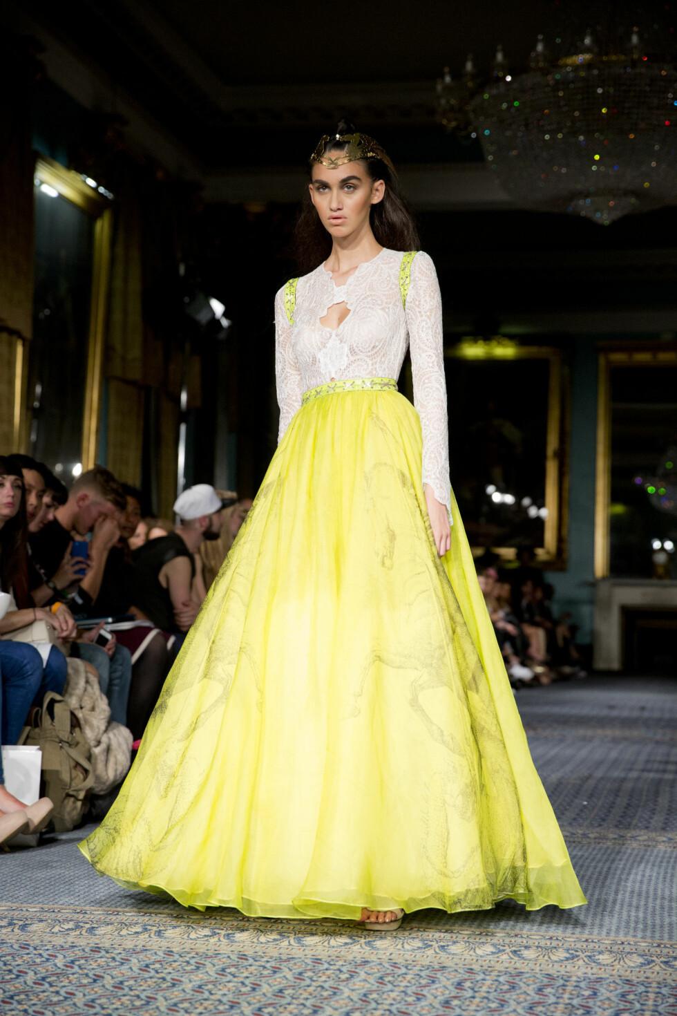 London 20140915:  London Fashion Week.  Bergenseren Kristian Aadnevik viste sin SS 2015-kolleksjon under London Fashion Week.   Foto: Sara Johannessen / KK