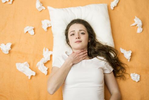 OFTE HALSBETENNELSE? For noen kan det være aktuelt å fjerne mandlene. Foto: Fotolia