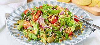 Salat er god mat