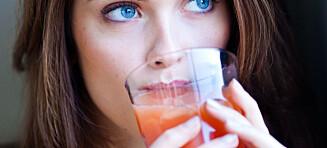 Vær forsiktig med grapefruktjuice