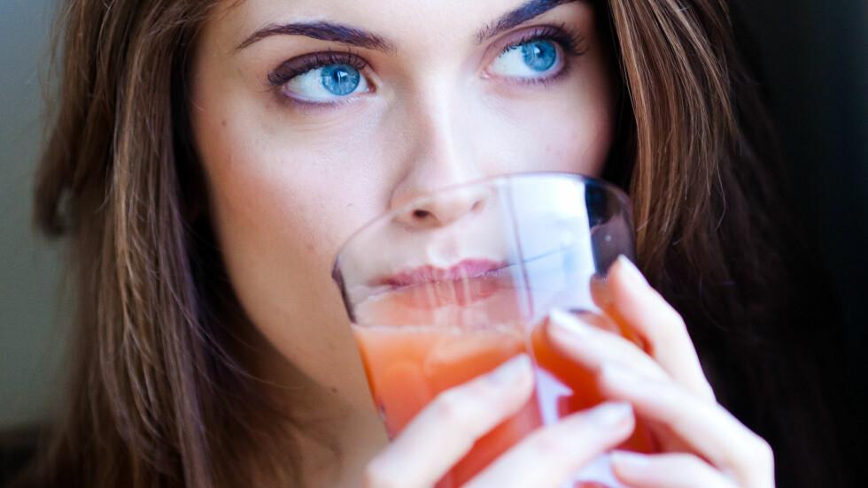 <strong>GRAPEFRUKTJUICE:</strong> Den søte, syrlige juicen kan ha en skadelig effekt.  Foto: REX/Garo/Phanie/All Over Press
