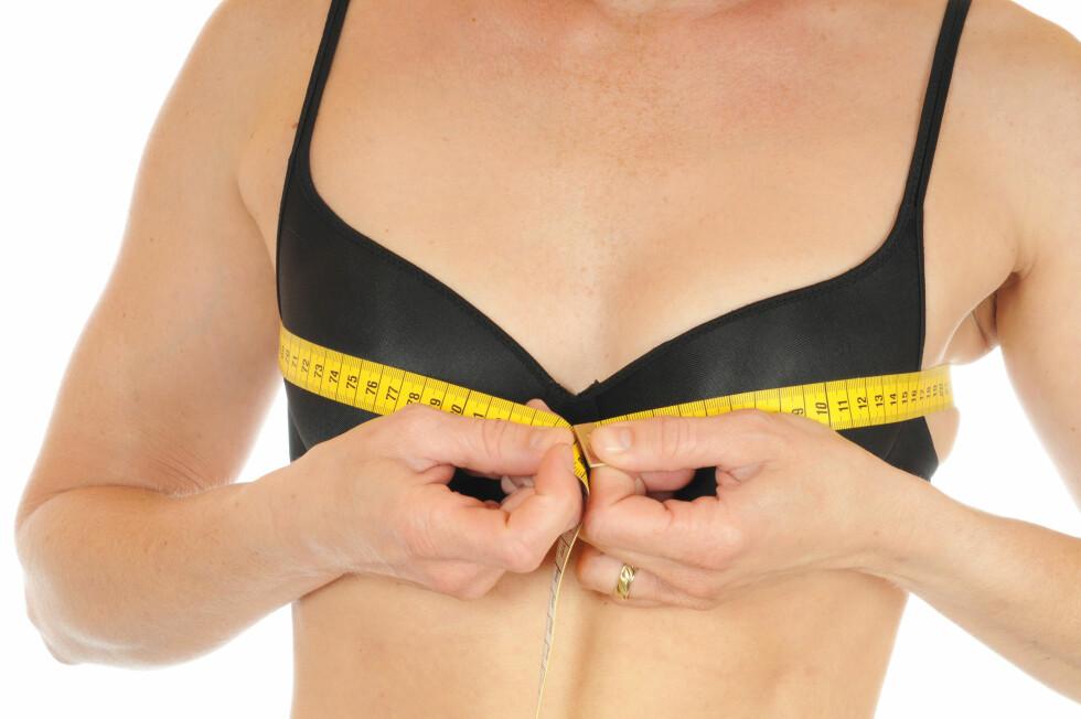 MINDRE BRYSTER: Mange kvinner tror at brystene deres er det første som vil forsvinne dersom de går ned i vekt, men ifølge ekspertene er dette veldig individuelt. Foto: PeJo - Fotolia