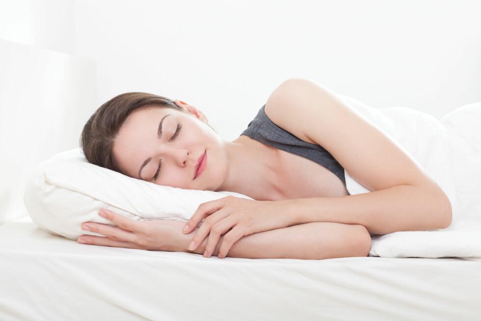 EN GOD NATTS SØVN: Puten har mye å si for hvordan vi sover, men visste du at du bør bytte den ut hver sjette måned? Foto: Ana Blazic Pavlovic - Fotolia