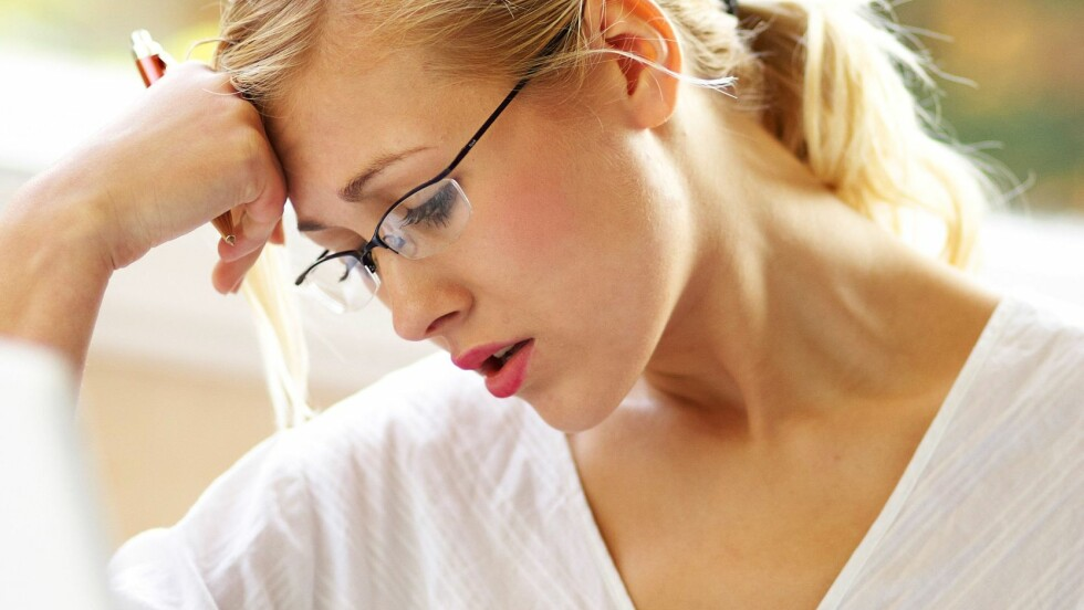 JOBBER SEG SYKE: For mye press og stress resulterer i at en del kvinner jobber seg syke. Foto: All Over Press