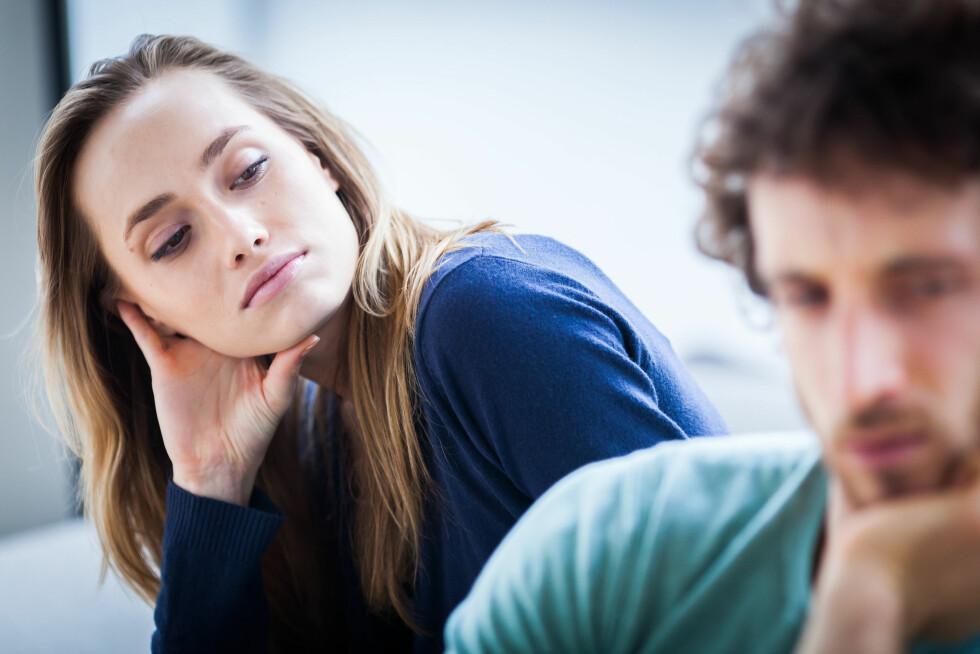 NOE SOM MANGLER: Utroskap skjer ofte som følge av at det er et eller annet som mangler i parforholdet. Det kan være alt fra sex eller nærhet til spenning. Foto: All Over Press