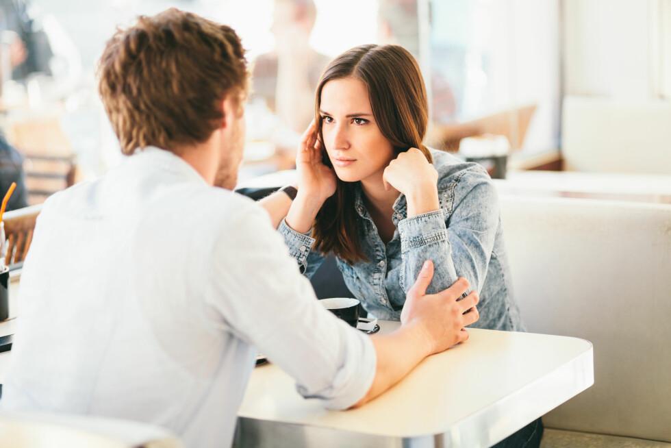 <strong>HØR PÅ HVERANDRE:</strong> Ikke gå til personangrep, fokuser på hva dette gjør med deg personlig. Hør på hva den andre har å si. Foto: berc - Fotolia