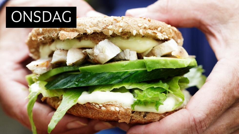 KJAPT OG KJEMPEGODT: Det tar deg 25 minutter å lage denne kjempegode burgeren! Foto: All Over Press