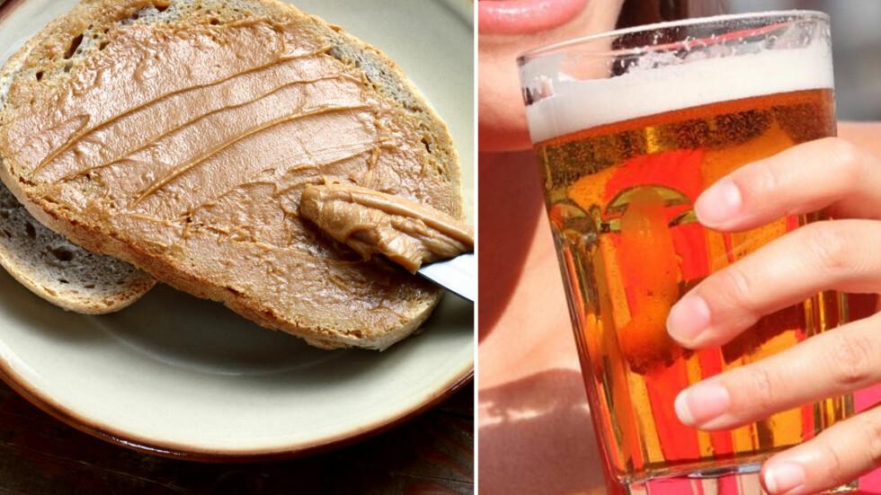 SANNHETEN OM MATEN DIN: Mye av maten vi spiser i dag kan inneholde insekter - 100 gram peanøttsmør kan for eksempel inneholde opp mot 30 småkryp, mens i en desiliter med øl kan du risikere å få i deg over 250 små bladlus. Foto: Fotolia/All Over Press