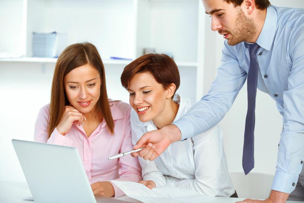 SETT PRIS PÅ KOLLEGAENE DINE: Hvis du er så heldig å være omgitt av gode kollegaer, prøv å fokuser på nettopp det! Foto: puhhha - Fotolia