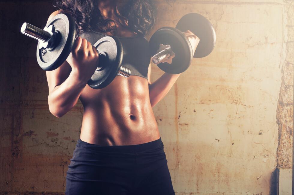 BYTT UT ØVELSENE: Dersom du ikke lenger oppnår resultatene du ønsker gjennom styrketreningen, kan det være lurt å variere øvelsene, tyngde og antall repetisjoner.  Foto: beccarra - Fotolia