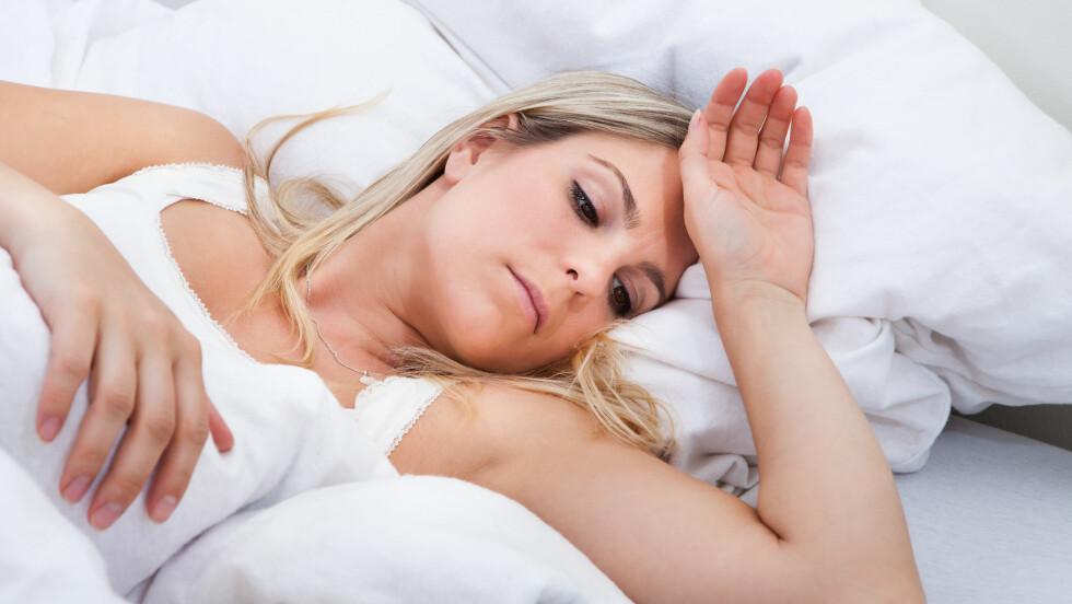 FEBER?: Feber og muskelsmerter er en indikator på at du brygger på en forkjølelse. Foto: apops - Fotolia