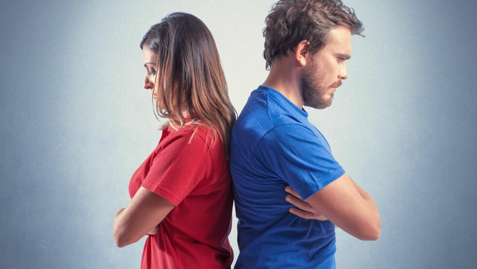 SAMLIVSBRUDD: En skulle kanskje ikke tro det, men sensommeren er faktisk høysesong for samlivsbrudd og skilsmisser.  Foto: alphaspirit - Fotolia
