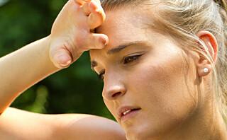 Får du hodepine etter trening?
