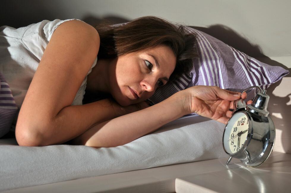 PÅVIRKER SØVN: Snorking og grynting gir som regel mange søvnløse netter - for alle parter. Foto: Dan Race - Fotolia