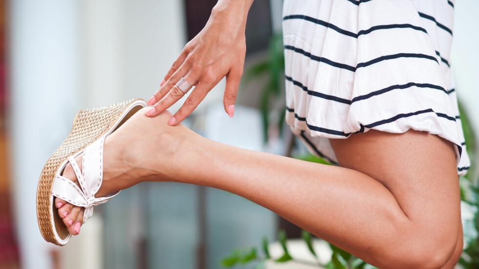 STØRRE FØTTER: Studier viser at føttene til både menn og kvinner har økt med mellom to og tre skostørrelser bare siden 70-tallet. Foto: bertys30 - Fotolia