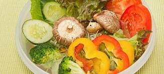Legg grønnsakene i vann før grilling