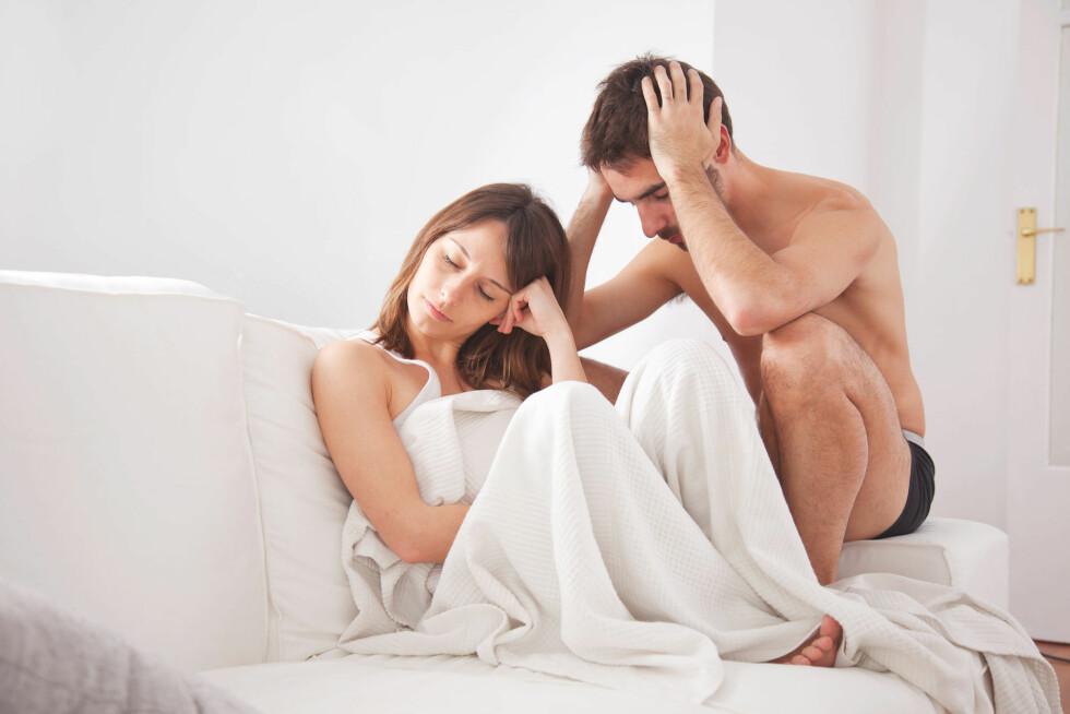 TÅLER IKKE SANNHETEN: Dersom partneren din har problemer med at du har hatt en del tidligere sexpartnere, mener ekspertene han ikke er mannen for deg.