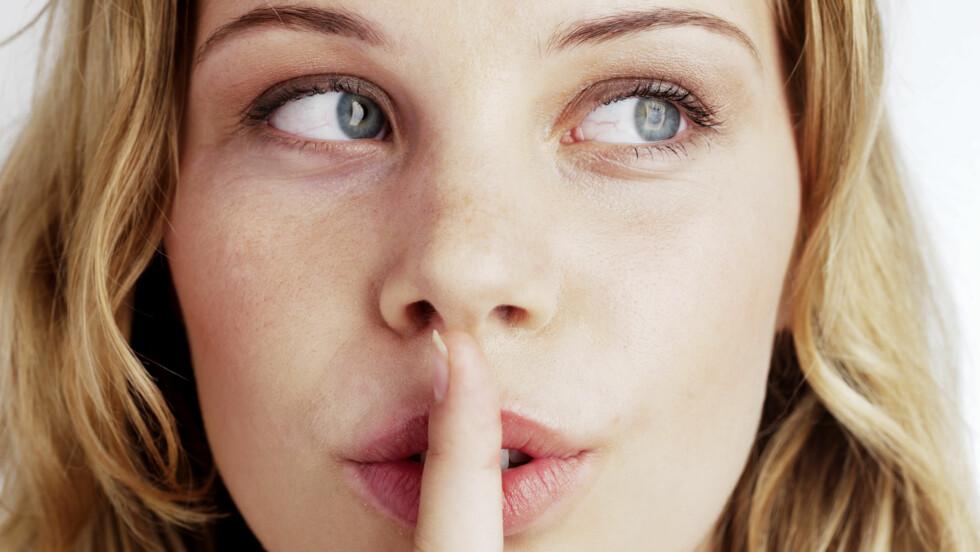 LYVER: Mange kvinner lyver om hvor mange sexpartnere de har hatt for å ikke bli stemplet som løse.