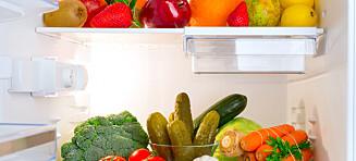 Dette bør ikke være i kjøleskapet