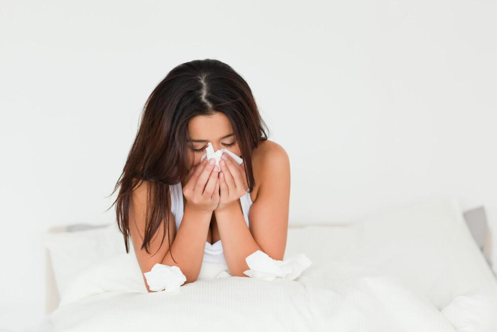 SYMPTOMER: Utbrenthet kan gjøre deg både fysisk og psykisk syk.  Foto: All Over Press