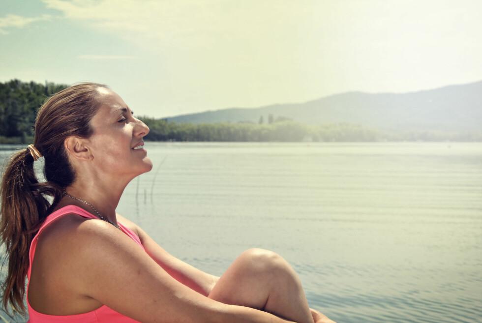 FINN ROEN: Stress ned, fokuser på det positive... Hørt det før? Jada, men det funker!Foto: Alamy / All Over Press