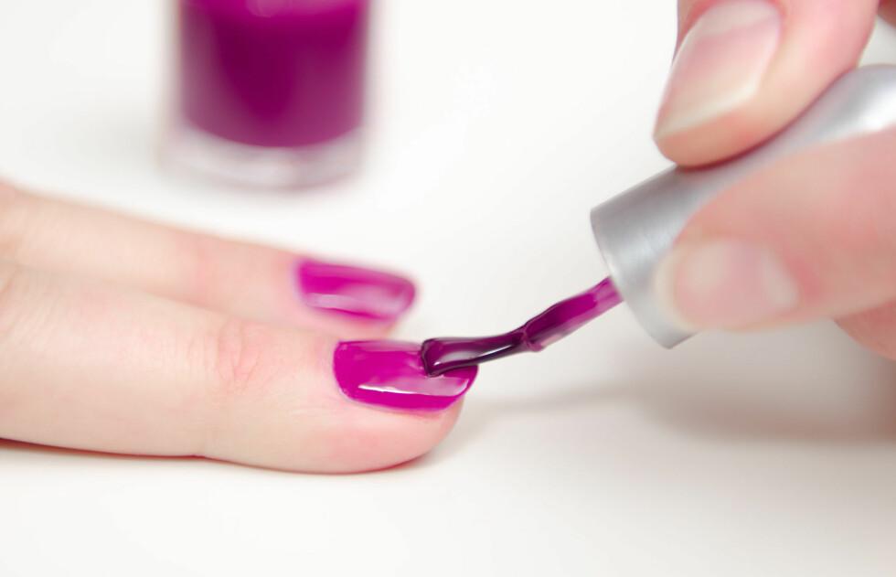 <strong>KNALL:</strong> Få ting løfter humøret som en skikkelig knall rosafarge på neglene.  Foto: frankdaniels - Fotolia