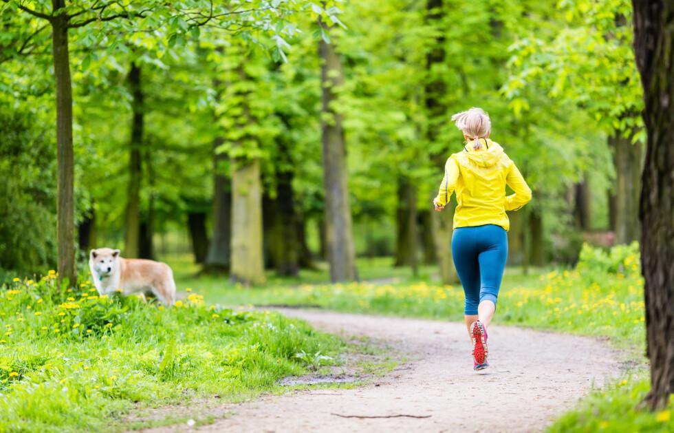 KOM DEG UT: Det å komme seg ut i frisk luft er ifølge eksperten bedre medisin enn antidepressiva.  Foto: blas - Fotolia