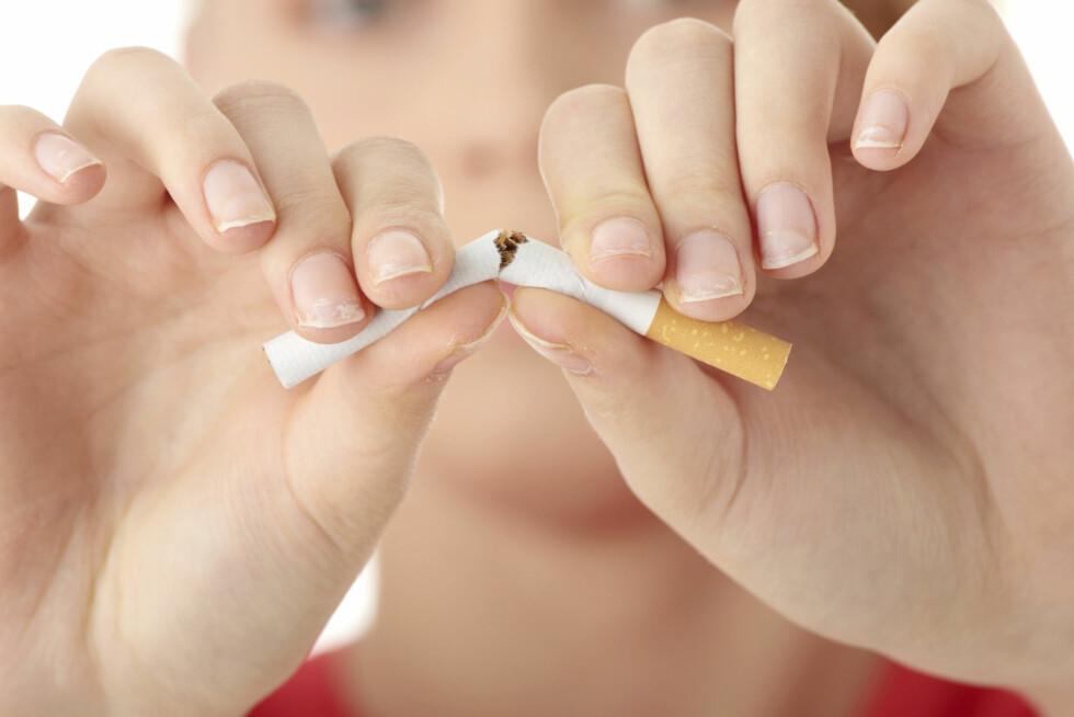 RØYK: Det å røyke kan faktisk gjøre at du kommer i overgangsalderen et par år tidligere enn andre.