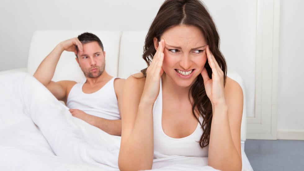 SEX MED EKSEN: Før du bestemmer deg for å innlede et seksuelt forhold til eksen bør du tenke deg godt om, for sjansen er stor for at du ender opp såret.  Foto: apops - Fotolia