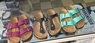 Hva ER det med disse sandalene?