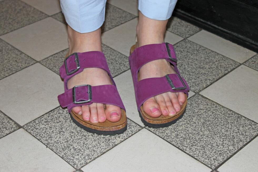 HOT MED HELSE: Birkenstock-sandalene, som først og fremst er kjent for komfort, har blitt hot-hot-hot de siste årene.  Foto: KK