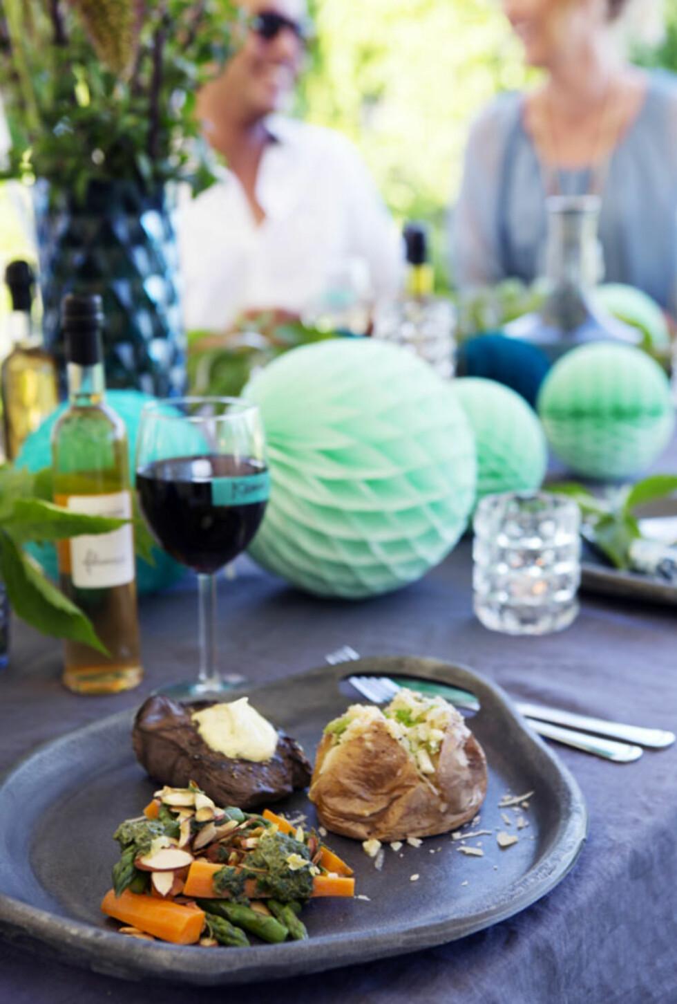DEILIG GRILLMAT: Imponer gjestene med utsøkt grillmat! Tips til supergode marinader får du under.  Foto: Yvonne Wilhelmsen
