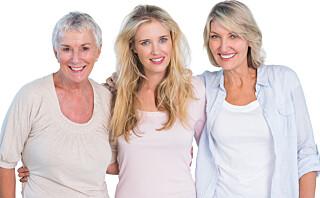 Slik er kroppens aldringsprosess