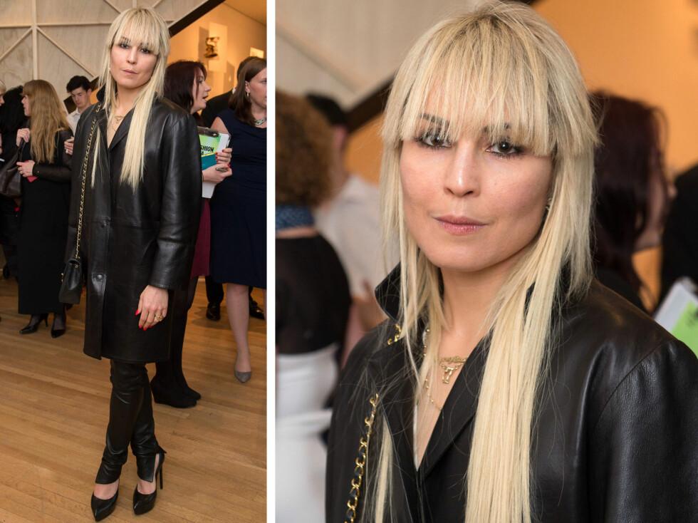 NOOMI RAPACE: Den svenske skuespillerinnen har lagt de mørke lokkene med naturlig fall på hylla, og tester nå ut en moderne klipp og lys hårfarge. Foto: All Over Press